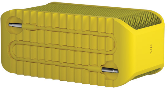 Jabra Bluetooth Lautsprecher Solemate Mini, gelb -