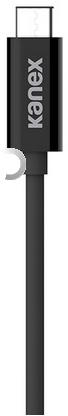 Kanex USB-C KFZ-Ladegerät - 1.20m - schwarz -