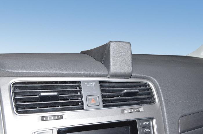 Kuda Navigationskonsole für VW Golf 7 ab 2012 Navi Kunstleder schwarz -