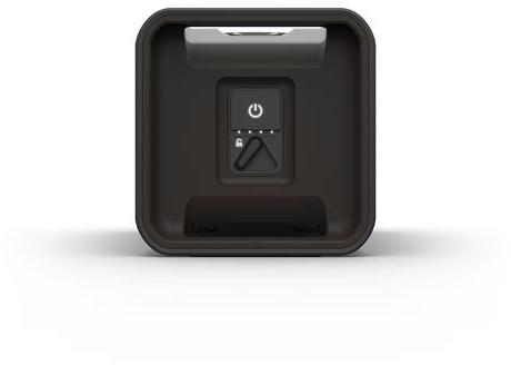 Lifeproof AQUAPHONICS AQ10 - Lautsprecher - tragbar - drahtlos - Bluetooth - Obsidian Sand Black -