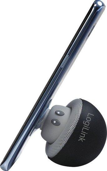 LogiLink portable Bluetooth Speaker mushroom design, schwarz -