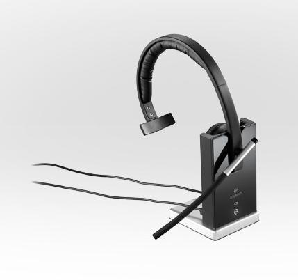 Logitech® H820e - kabelloses DECT Mono-Headset -