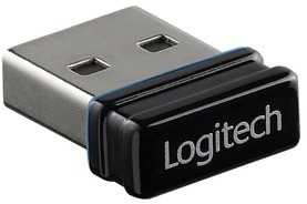 Logitech® Wireless Headset H800, schwarz - Nano-Empfänger