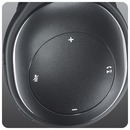 Logitech® Wireless Headset H800, schwarz - seitliche Bedienelemente