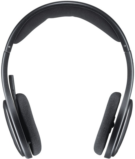 Logitech® Wireless Headset H800, schwarz -