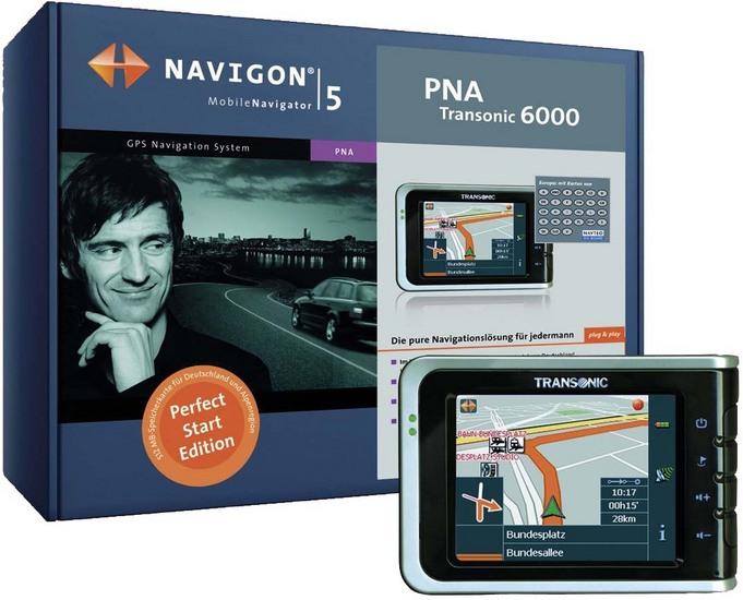 Navigon PNA Transonic 6000 Perfect Start Bildergalerie