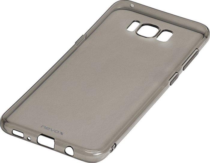 nevox StyleShell Flex Samsung Galaxy S8+ schwarz-transparent -