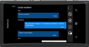 Nokia Lumia 800, schwarz -