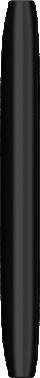 Nokia Lumia 800, schwarz - Linke Seite