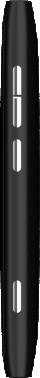Nokia Lumia 800, schwarz - Rechte Seite
