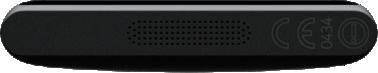 Nokia Lumia 800, schwarz - Unterseite