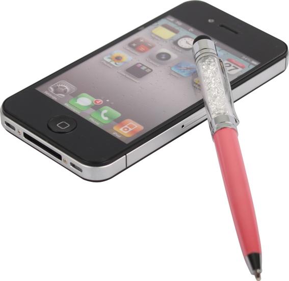 Twins Diamond Pen (kapazitiv), pink -