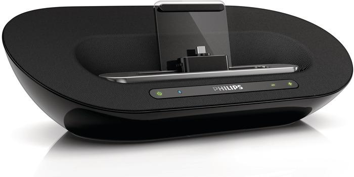 bilder philips android lautsprecher dockingstation as351 schwarz bild 2. Black Bedroom Furniture Sets. Home Design Ideas