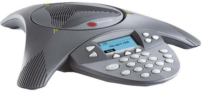 how to make conference call on polycom soundstation2