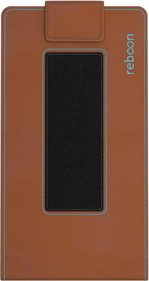 reboon boonflip Smartphone Ledertasche - Größe XS2 - braun -