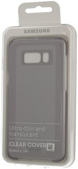 Samsung Clear Cover für Galaxy S8+, schwarz -