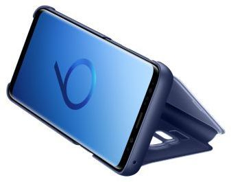 Samsung Clear View Standing Cover G960F für Galaxy S9, blue -
