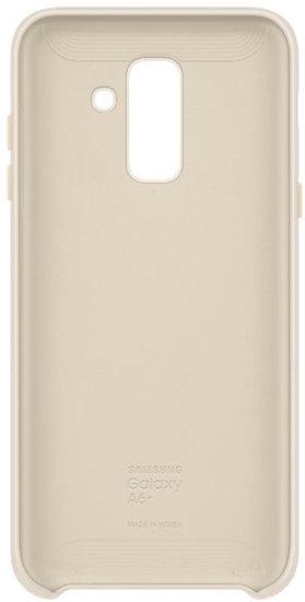 Bilder Samsung Dual Layer Cover Galaxy A6 Plus 2018 Gold Bild 4