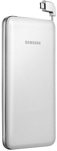 Samsung ext.Akkupack + Micro-USB-Datenkabel, 6.000 mAh, White -