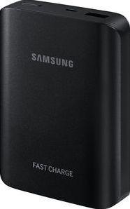 Samsung externer Akkupack 10.200mAh mit Schnellladefunktion, schwarz -