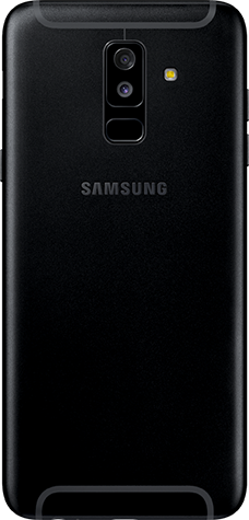 Bilder Samsung Galaxy A6 Plus 2018 Black Bild 4