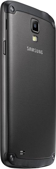 Samsung Galaxy S4 Active, grau (Telekom) + Jabra Stereo Headset REVO, grau -