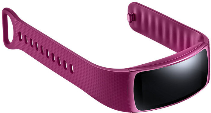 Samsung Gear Fit2 - Large (155 bis 210mm) - pink -