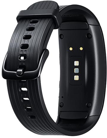 Samsung Gear Fit2 Pro (SM-R365) - Schwarz (Gr.L) -