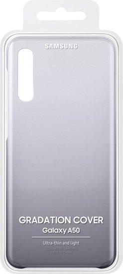 Samsung Gradation Cover Galaxy A50, black -