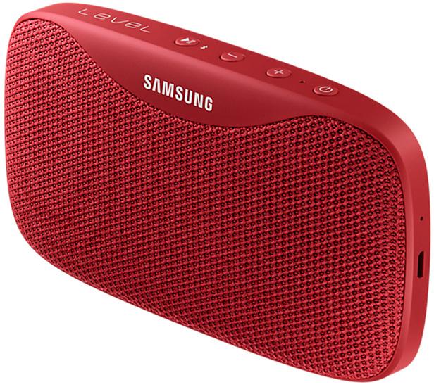 Samsung \'\'Level Box Slim\'\' mobiler Bluetooth Lautsprecher red
