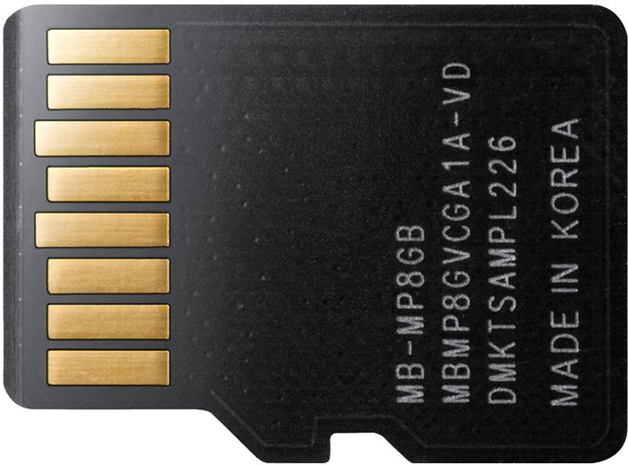 Samsung Plus microSDHC Card 8GB UHS-I Class 4 -