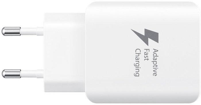 Samsung Schnellladegerät, USB-C, 25W, Fast-Charge 12V - 2.1A, weiß -
