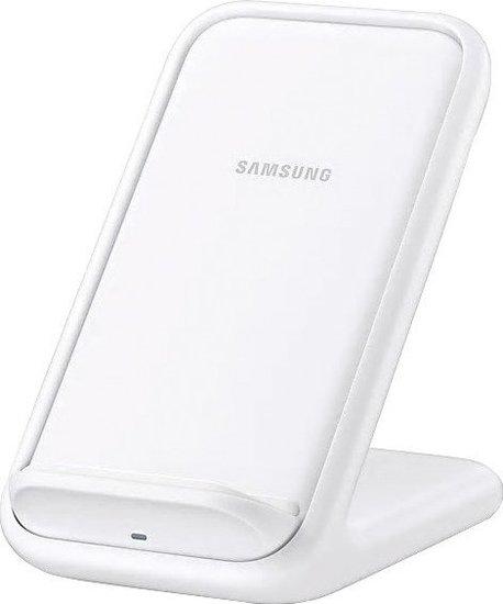 Samsung Wireless Charger Stand induktiv EP-N5200, inkl. Ladekabel, white -