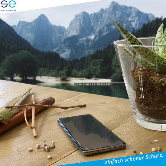 smart engineered 3D Schutzfolien für Huawei P20 Pro, 2x Premium HD Displayschutzfolien, 1x Folie Rückseite -