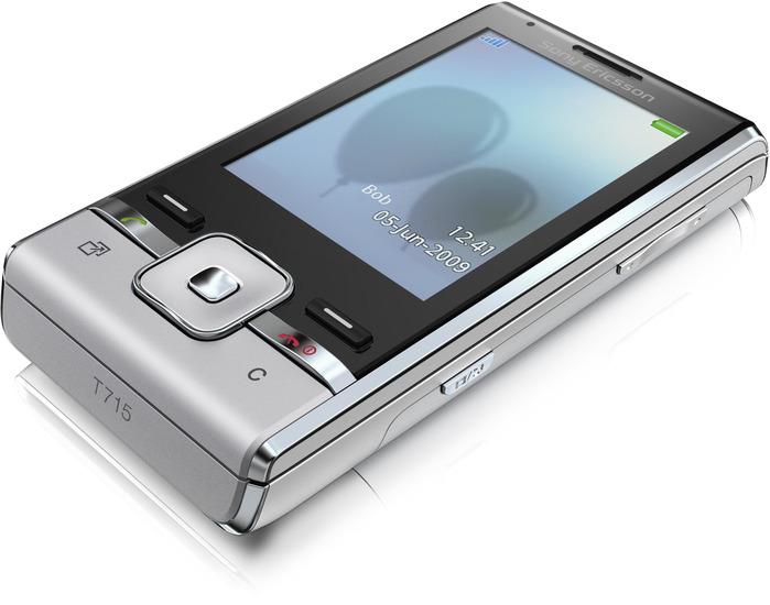 Sony Ericsson T715 Galaxy Silver - Slider geschlossen