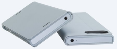 Sony Style-Cover für Xperia X Compact - weiß -