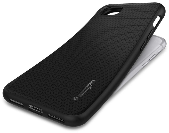 Spigen Liquid Armor for iPhone 7/ 8, schwarz -