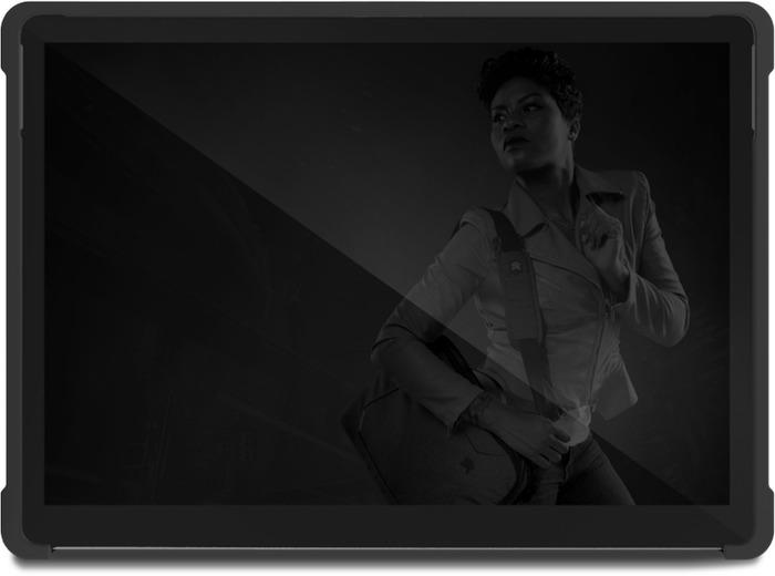 STM Dux Shell Case, Microsoft Surface Pro X, schwarz/transparent, STM-222-261L-01 -