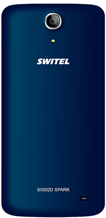 Switel S5502D Spark blue Dual-SIM, Blau -