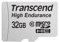 Transcend 32GB mircoSDHC, Class 10, Video Recording -