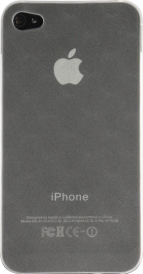 Twins Micro Diamond für iPhone 4, weiß-transparent -