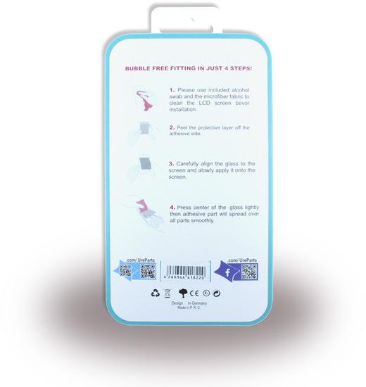 UreParts Apple iPhone 8, Premium Displayschutzglas -