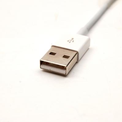 UreParts Knik Round, Daten + Ladekabel -100cm, Apple iPhone 6, 6 Plus -