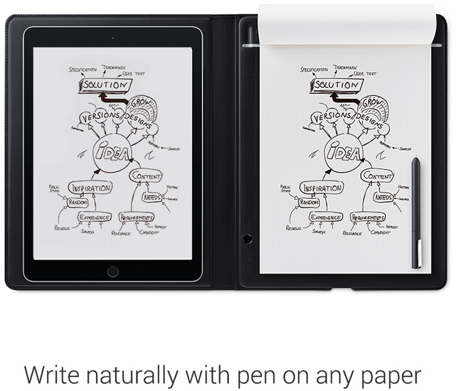 Wacom Bamboo Folio Smartpad - groß -