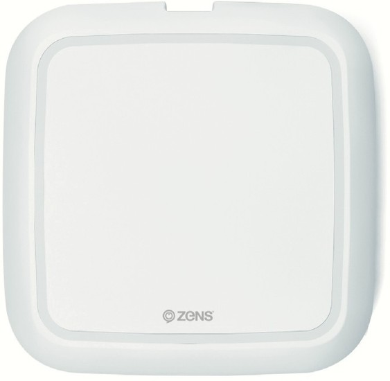 ZENS Single Wireless Charger 10W Qi weiß -