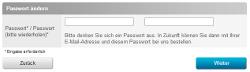 Passwort ä