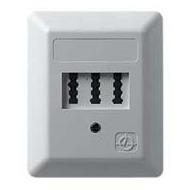 ZE Kom Automatischer Mehrfachschalter (AMS) mit NF/ F TAE-Anschlussdose, Aufputz