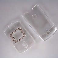 Strax Oberschale Click-On Motorola V3 diamant transparent
