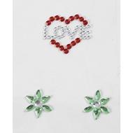 Handysticker Love mit Blumen
