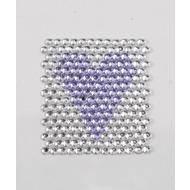 Handysticker violettes Herz
